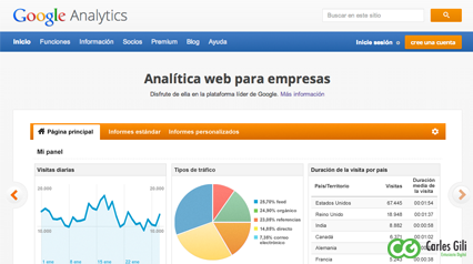 Google Analytics Sabadell Analitca Web Carles Gili