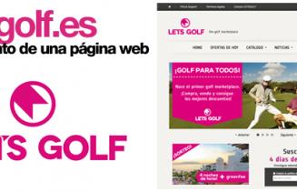 Letsgolf Lanzamiento Portal Web Saball TFG Blanquerna Carles Gili