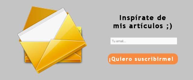 Email Suscripcion Mailchimp Carles Gili