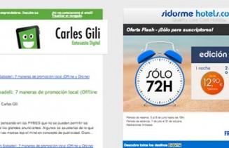 Imagen de ejemplo de newsletter hecho con mailchimp