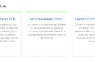 2 de los examenes de Google AdWords para la certificacion