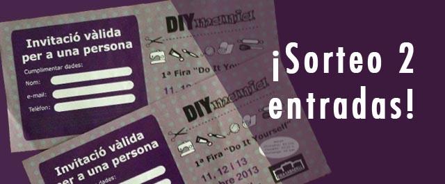 Invitaciones gratuitas fira diymania de sabadell